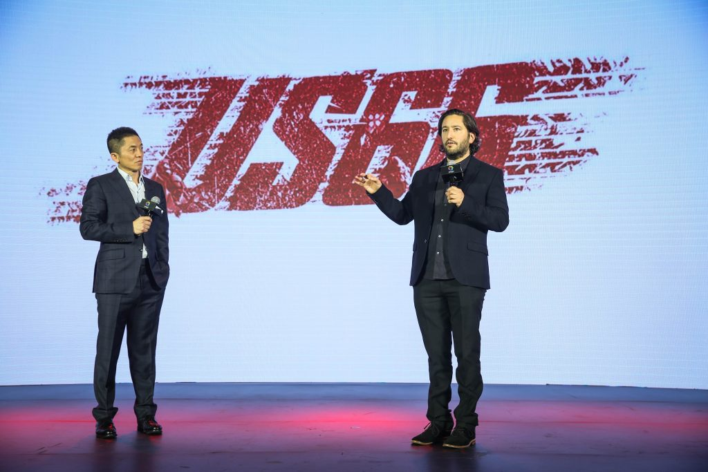 格莱戈·夏皮洛与蔡公明先生一同介绍电影《US66》
