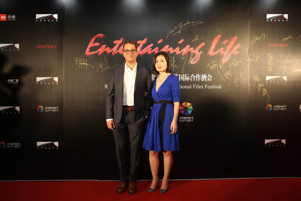 路画影视董事长曹佳女士与好莱坞知名内容营销公司CEO Steven Amato